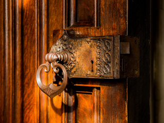 decorative antique lock and door hardware